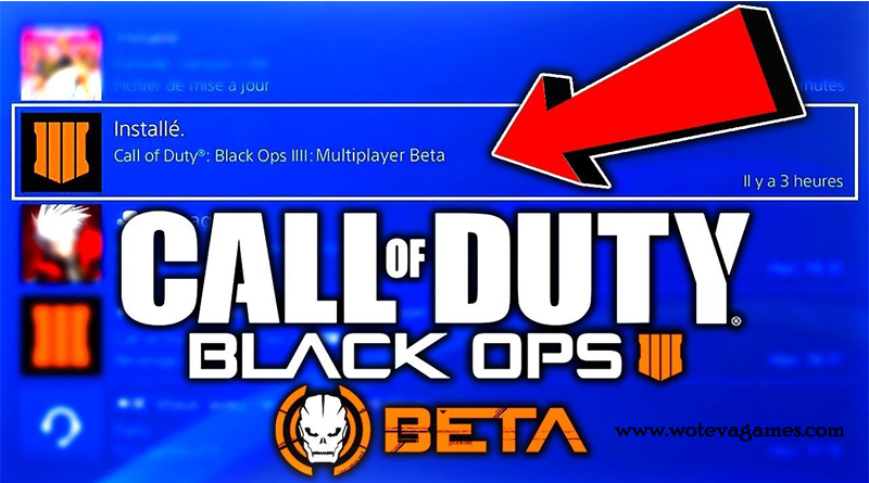 call of duty black OPS4 beta